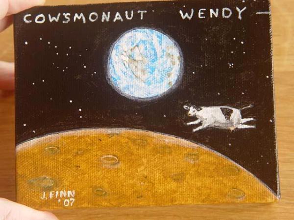 Cowsmonaut Wendy
